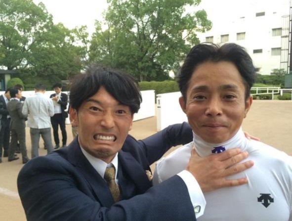 後藤浩輝と岩田の写真