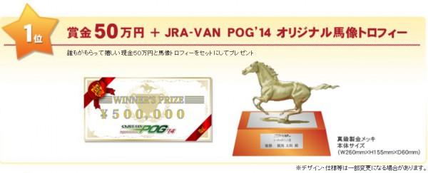 JRA-VANのPOG賞金