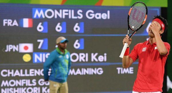 リオ五輪テニス錦織圭準決勝進出2