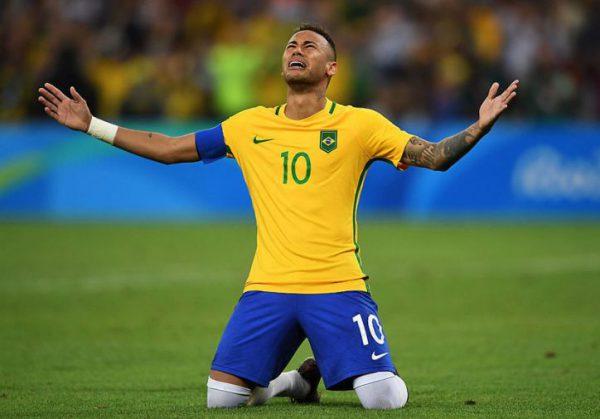 リオ五輪ネイマール涙の金メダル
