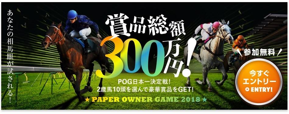 浅次郎POG2018~2019!来年のダービー馬を探せ!