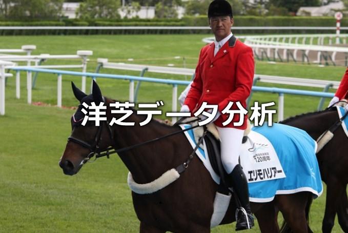洋芝が得意な種牡馬・騎手・調教師の考察。
